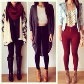 pants,jeans,denim,black and white,acid wash,beige,boots,wedges,heels,high heels,lace up,jewels,jacket,coat,blouse,cardigan,aztec,boho,boho chic,bag,crop,cropped,bra,bralette,shirt,t-shirt,top,tank top,scarf,cozy,classy,style,casual,long,winter sweater,winter jacket,winter outfits,winter coat,burgundy,skinny pants,hot pants,high waisted jeans,platform shoes,platform lace up boots,necklace,denim jacket,polka dots,print,crop tops,fall outfits,streetwear,streetstyle,knitted sweater,knitted cardigan,knitwear,knitted scarf,long sleeves,shoes