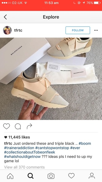 shoes balenciaga style low top sneakers nude sneakers sneakers