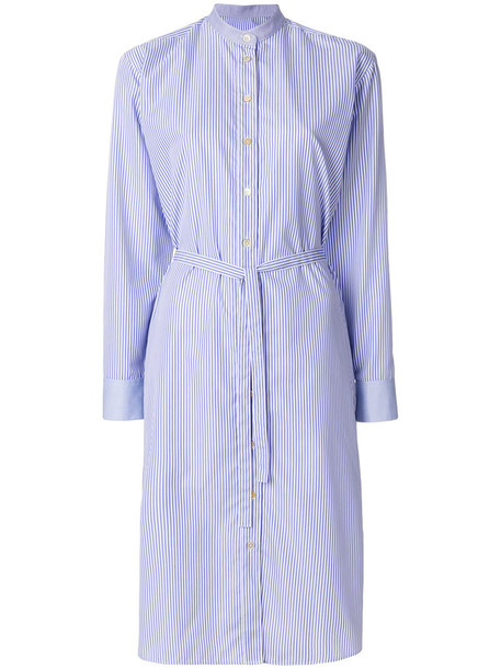 Paul Smith dress shirt dress women cotton blue