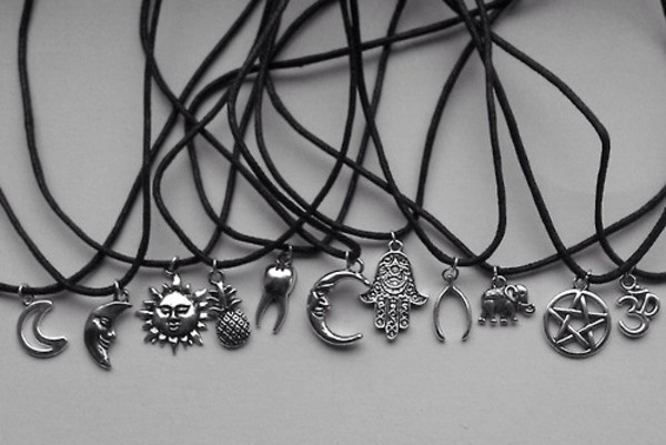 jewels hamsa necklace bracelets hippie silver jewelry