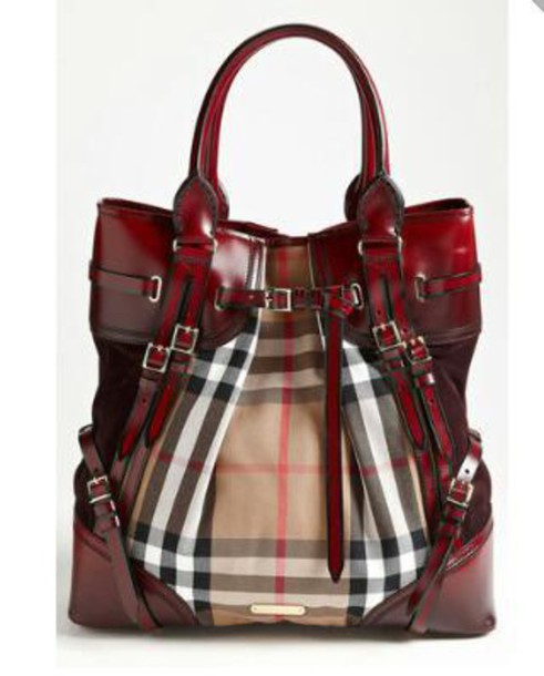 bag auburn plaid