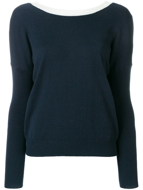 ESSENTIEL ANTWERP sweater women blue wool
