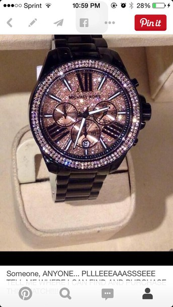 jewels micheal kors watch