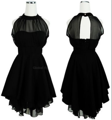Halter Chiffon Dresses