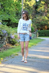 jess style rules,shorts,sweater,bag,shoes