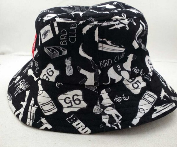 hat bucket hat dope printed bucket hat