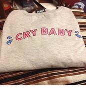 sweater,crybaby,melanie martinez