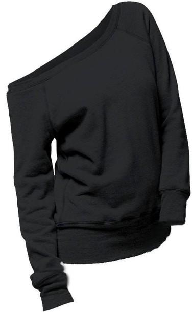 sweater black cute cozy