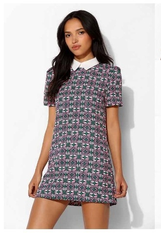 preppy dress girly collared dress dress