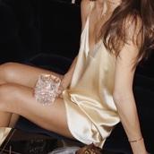 satin dress,gold,slip satin dress,spaghetti straps dress,clothes,silk dress