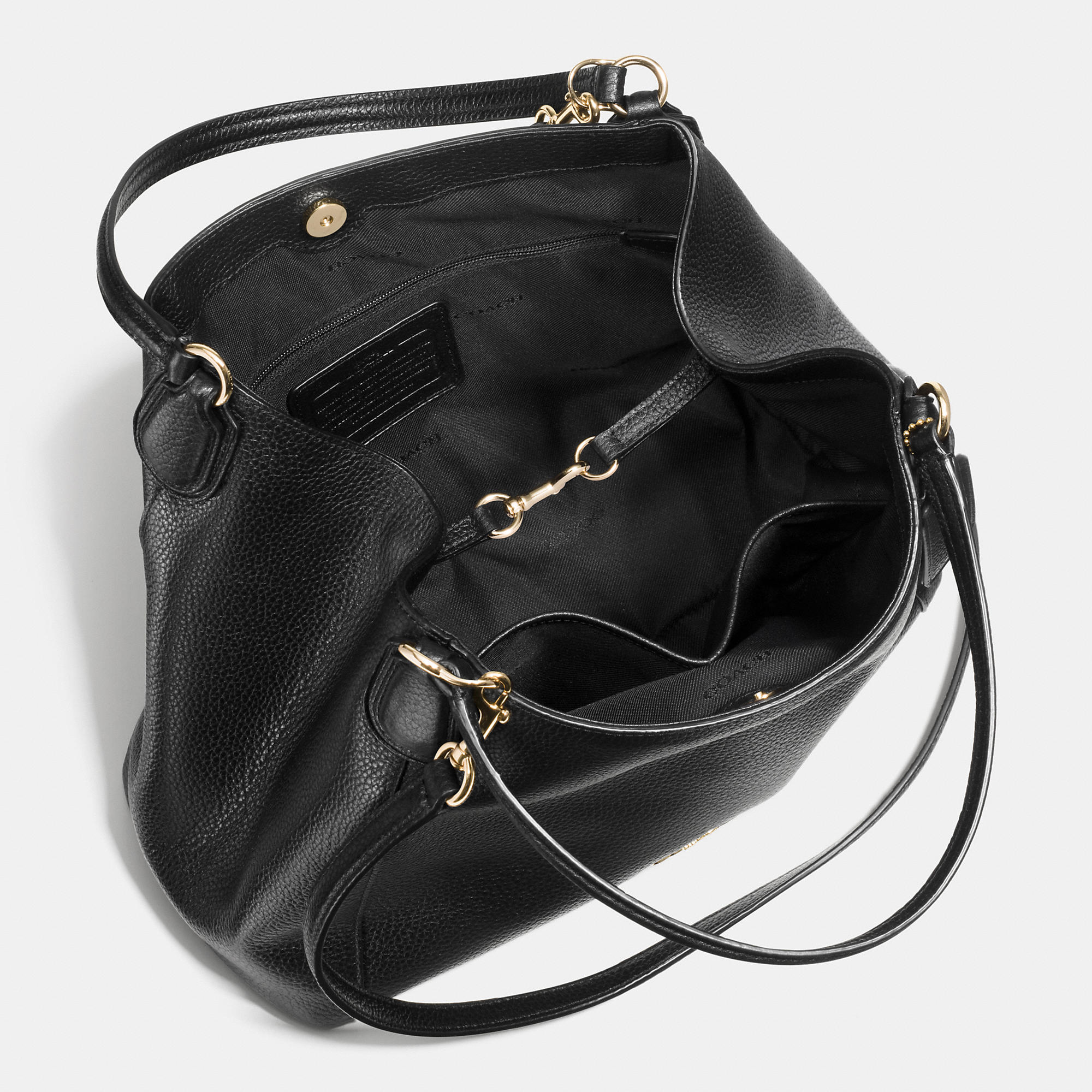 outlet sale online retailer on sale online Edie Shoulder Bag 28 in Pebble Leather