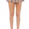 Ruffle bottom trim flowy shorts