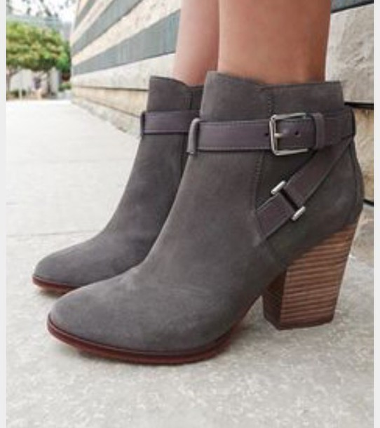 new style skate shoes best loved shoes, boeties, grey, low cut, heels, boots, ankle boots, grey ...