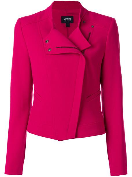ARMANI JEANS jacket women purple pink