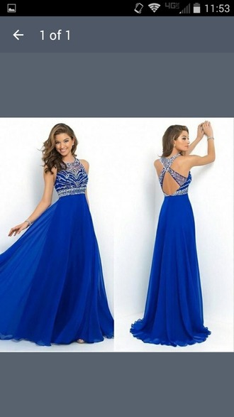 dress blue dress long dress long prom dress