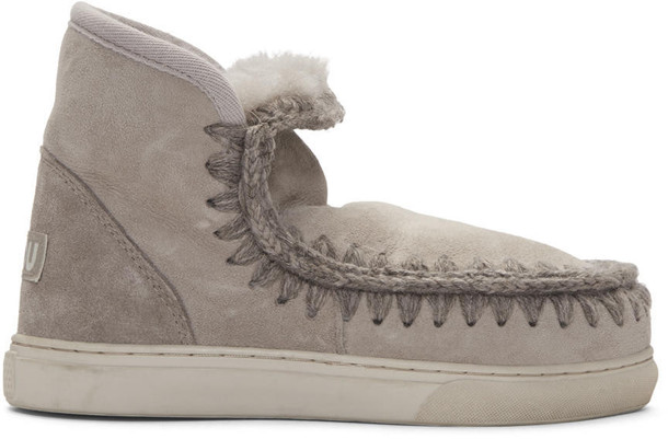 Mou mini boots taupe shoes
