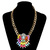 2014 Summer ZA Brand necklaces & pendants fashion Flower necklaces jewelry Chunky choker pendant necklace vintage necklace N0883-in Choker Necklaces from Jewelry on Aliexpress.com