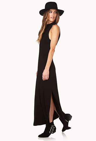 Sleek Cutout Maxi Dress | FOREVER21 - 2000126937