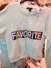 sweater,white sweater,cute sweater,knittwear,cool,cute,cute sweaters,sweater with words,colorful sweaters,printed sweater