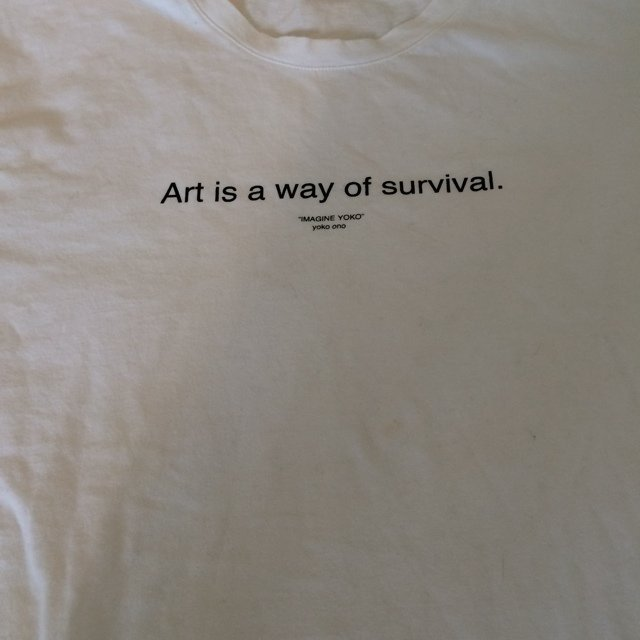"Size small zara ""art is a ... 