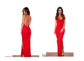 dress red dress red black dress boho dress prom dress prom gown heels crop tops cross criss cross cross over dress cut-out dress slit dress