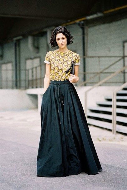 Long skirt blouse patterns – Modern skirts blog for you