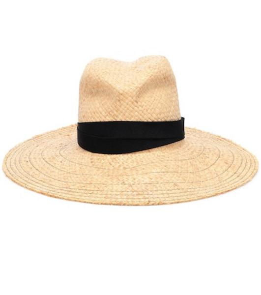 Lola Hats Snap First Aid raffia hat in neutrals