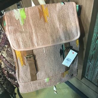 bag billabong knit pink backpack