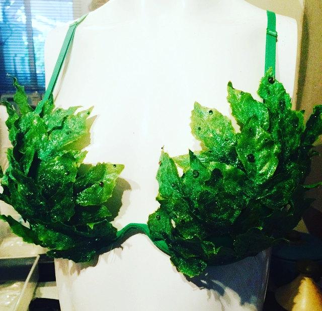 Poison Ivy Ravebra Glitter/Strass 85B