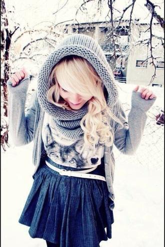 scarf toque hat hard to find wool unique winter hat winter¨