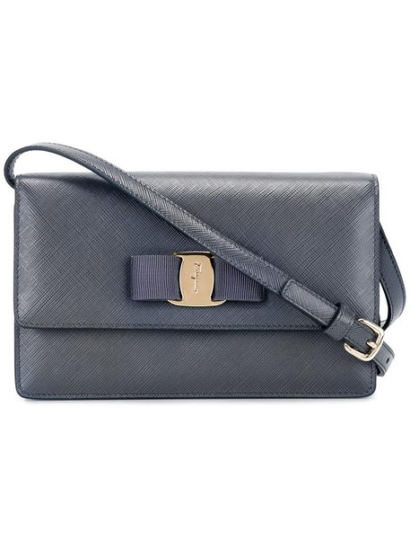 Salvatore Ferragamo women bag crossbody bag leather grey