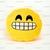 Emoji Icon Kissing Kiss Love Heart Yellow Round Cushion Pillow Valentine Gift