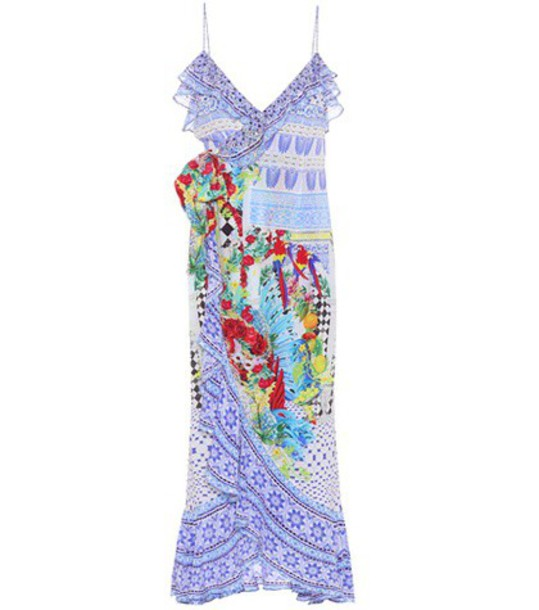 Camilla dress maxi dress maxi embellished silk