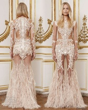 dress,designer,see through,givenchy,beyonce,long dress,beige dress,long prom dress