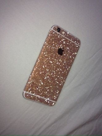 phone cover glitter iphone cover iphone case iphone 6 case gold gold glitter