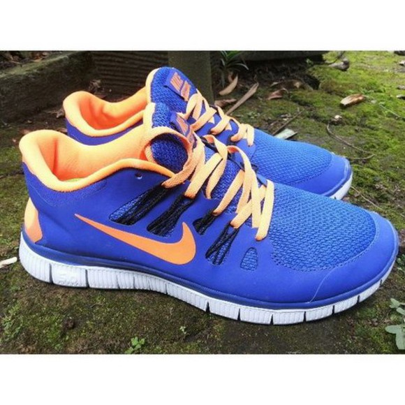 shoes nike nike running shoes running shoes nike free run sportswear sports shoes nike sneakers sneakers blue nike sportswear blue and white orange