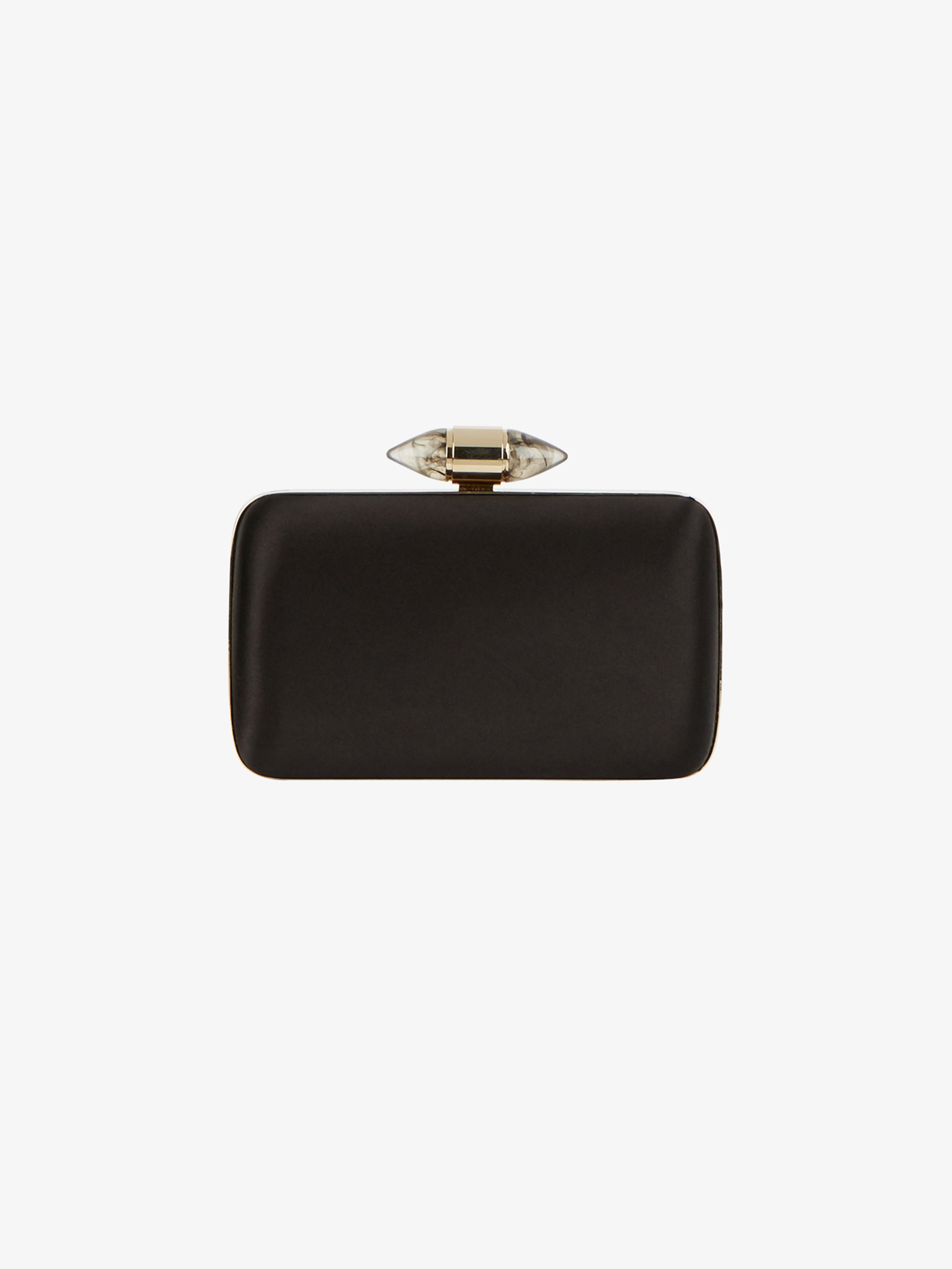 a475032f4f Satin clutch with jewelry clasp | GIVENCHY Paris