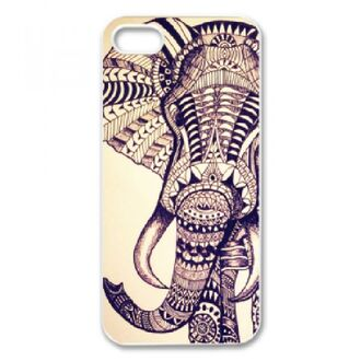 dress elephant iphone case iphone 4 case