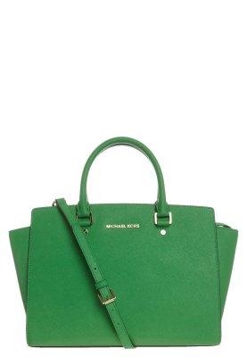 MICHAEL Michael Kors SELMA - Handbag - green - Zalando.co.uk