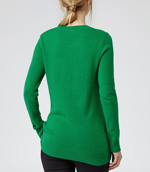 Sledge Gem Crew Neck Jumper - REISS