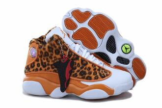 shoes orange shoes air jordan13