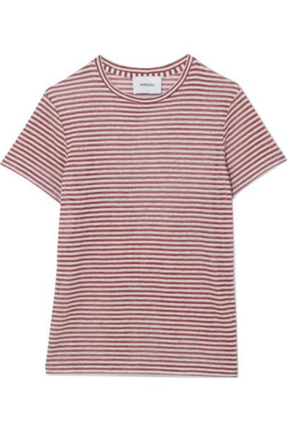 Nanushka t-shirt shirt t-shirt red top