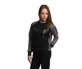 sweater fusion clothing black black sweater sweartshirt french terry pullover black pullover streetwear streetstyle clothes hazy
