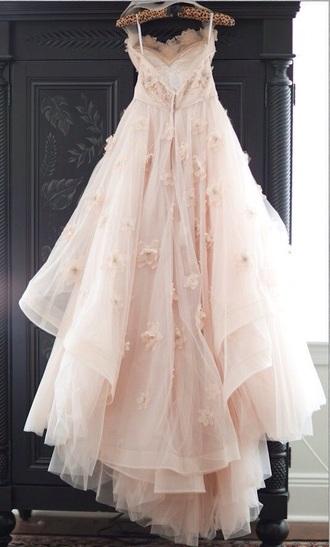 dress prom prom dress lace cute beautiful flowers