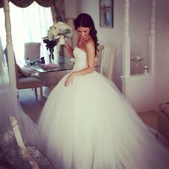 wedding clothes floral gown ball royal ombre girl perfect bride party dress wedding dress