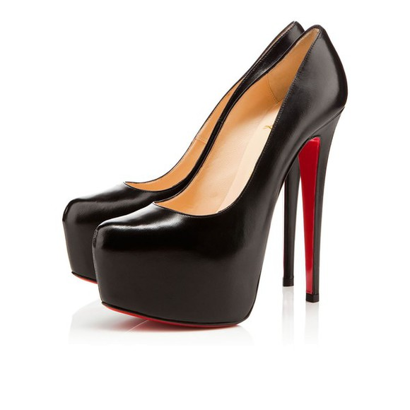 shoes high heels black pumps redbottoms