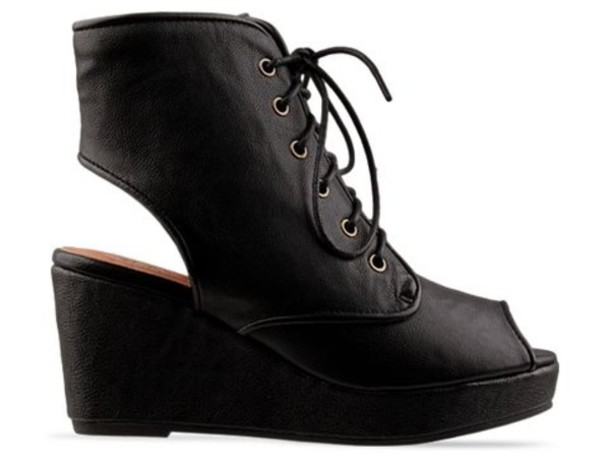 campbell jeffrey campbell peep toe laced up wedges lace heel shoes similiar black shoes grey shoes
