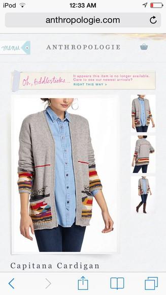 grey sweater fall sweater cardigan hayden panettiere