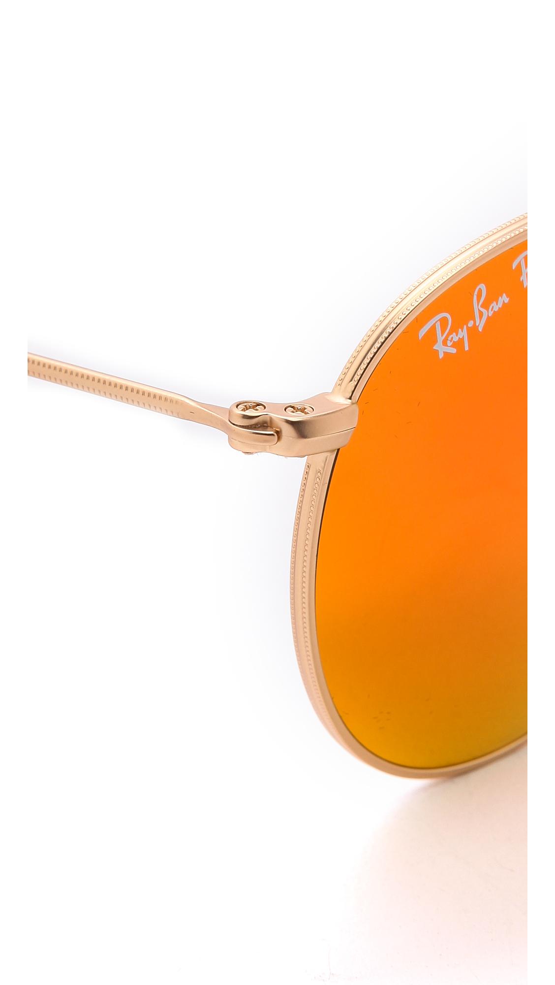 Ban mirrrored polarized icons sunglasses