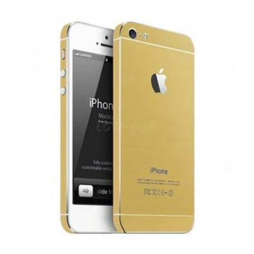 the latest 9a7c9 8f08d Full Body Wrap Decal Skin Sticker Champagne Gold for iPhone 5 Hot Sale |  eBay